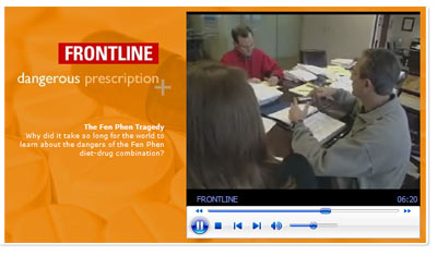 """The Fen Phen Tragedy"" Segment with Kip Petroff From the Frontline Program ""Dangerous Prescriptions"""