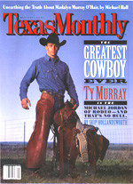 Texas Monthly: May, 1999 Ardor in the Court
